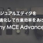 記事作成を効率化するプラグインTinyMCE Advancedの使い方を解説