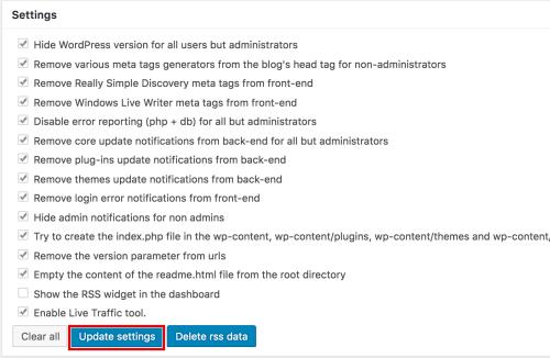 Wordpress、セキュリティ、強化、プラグイン、Acunetix WP Security、導入、使い方