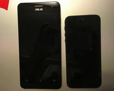 SIMフリー、携帯、端末、Zenfone5、乗り換え、評価、レビュー
